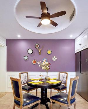 美式田园风格两室两厅室内设计装修效果图赏析