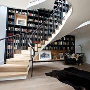 时尚混搭风格别墅楼梯装修效果图