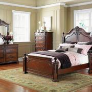 欧式古典风格大户型主卧室装修效果图