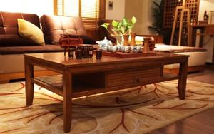 中式风格客厅茶几装修效果图