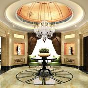 300平米别墅欧式风格餐厅吊顶装修效果图赏析