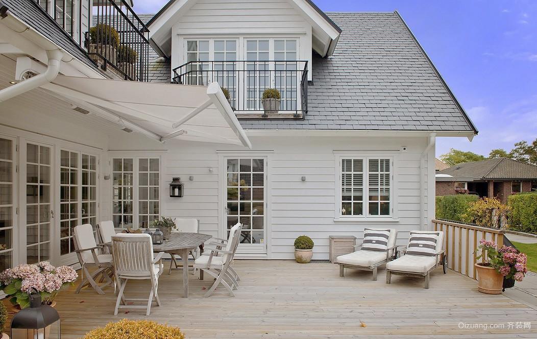美式风格两层别墅装修效果图赏析