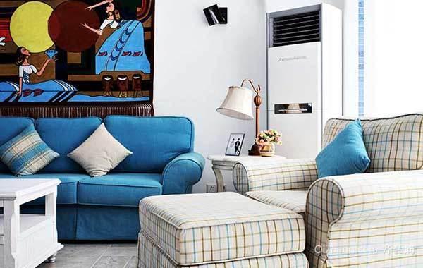 清新地中海小户型公寓装修设计欣赏