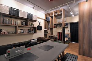 30平方米loft迷你住宅装修效果图