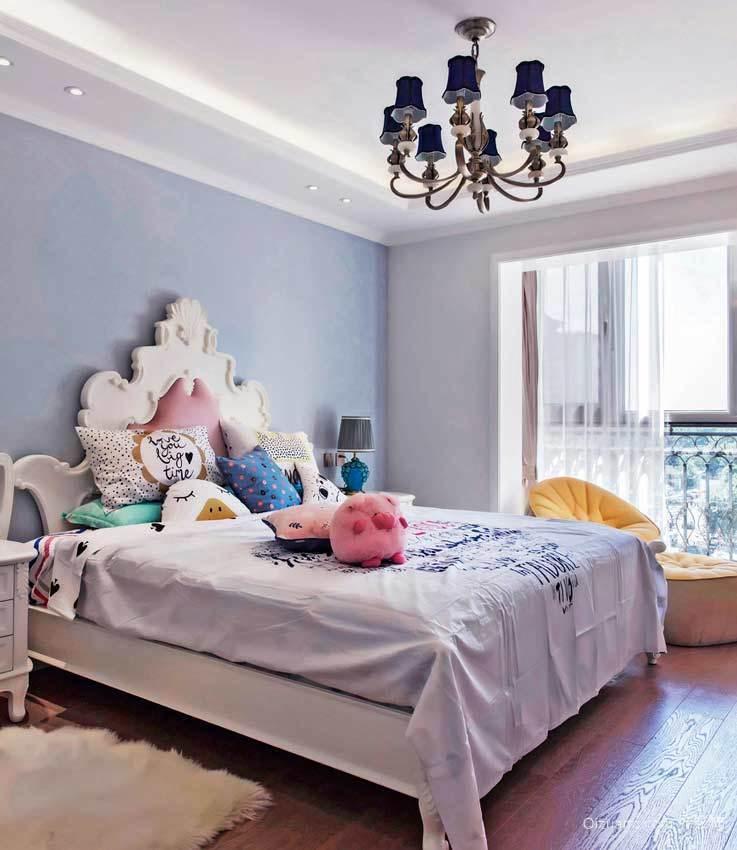 浪漫田园风格小户型卧室装修效果图