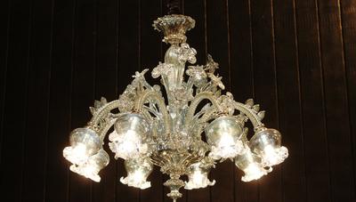 歐式客廳水晶燈圖片大全