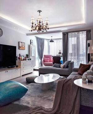 精致北欧风格小户型客厅装修效果图