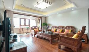 中式风格三室一厅装修效果图赏析
