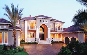 地中海风格精致别墅整体装修效果图赏析