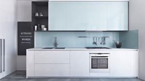 50平米现代精致时尚单身公寓装修效果图赏析