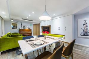 110平米北欧风格自然公寓装修效果图鉴赏