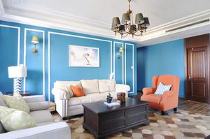 100平米地中海风格时尚混搭公寓装修效果图赏析