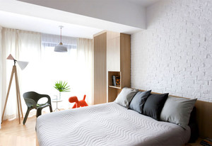 后现代风格简约时尚大户型公寓装修效果图鉴赏
