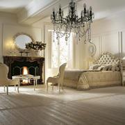 欧式风格别墅卧室水晶灯设计效果图赏析