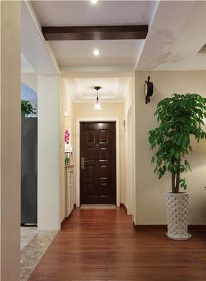 二居室现代简约风格过道吊顶装修效果图