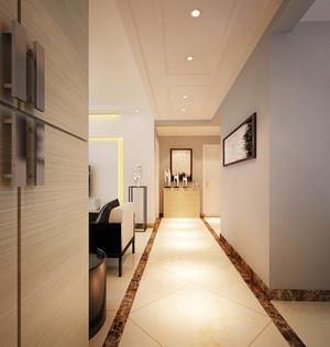 现代简约风格三居室过道玄关设计效果图