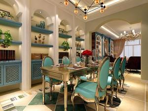大户型地中海风格餐厅装修效果图赏析
