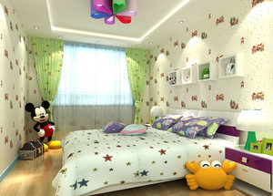 小户型现代简约风格儿童房装修效果图