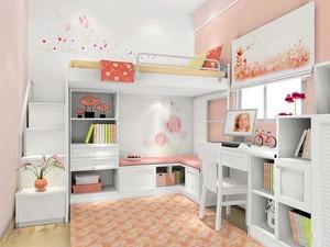 现代简约风格宜家儿童房色彩搭配装修效果图