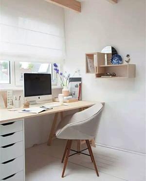 现代简约风格小户型书房装修效果图赏析