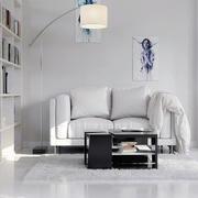 100平米现代简约风格客厅沙发设计效果图赏析