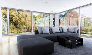 现代简约风格别墅沙发设计效果图