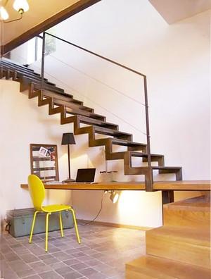 现代风格别墅创意楼梯收纳效果图赏析