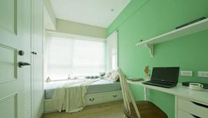 美式田园风格三居室整体装修效果图鉴赏