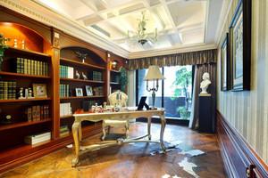 欧式风格别墅书房装修效果图赏析