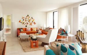 120平米现代混搭风格公寓装修效果图赏析