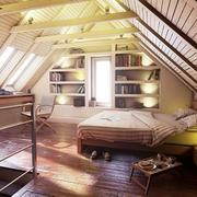 现代美式风格别墅阁楼装修效果图赏析