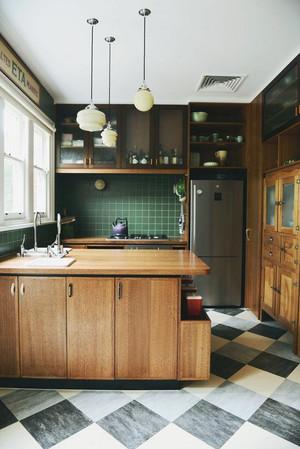 小户型美式乡村风格厨房装修效果图赏析
