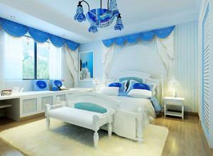 大户型地中海风格卧室装修效果图赏析