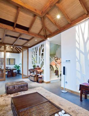 东南亚风格别墅客厅装修效果图赏析