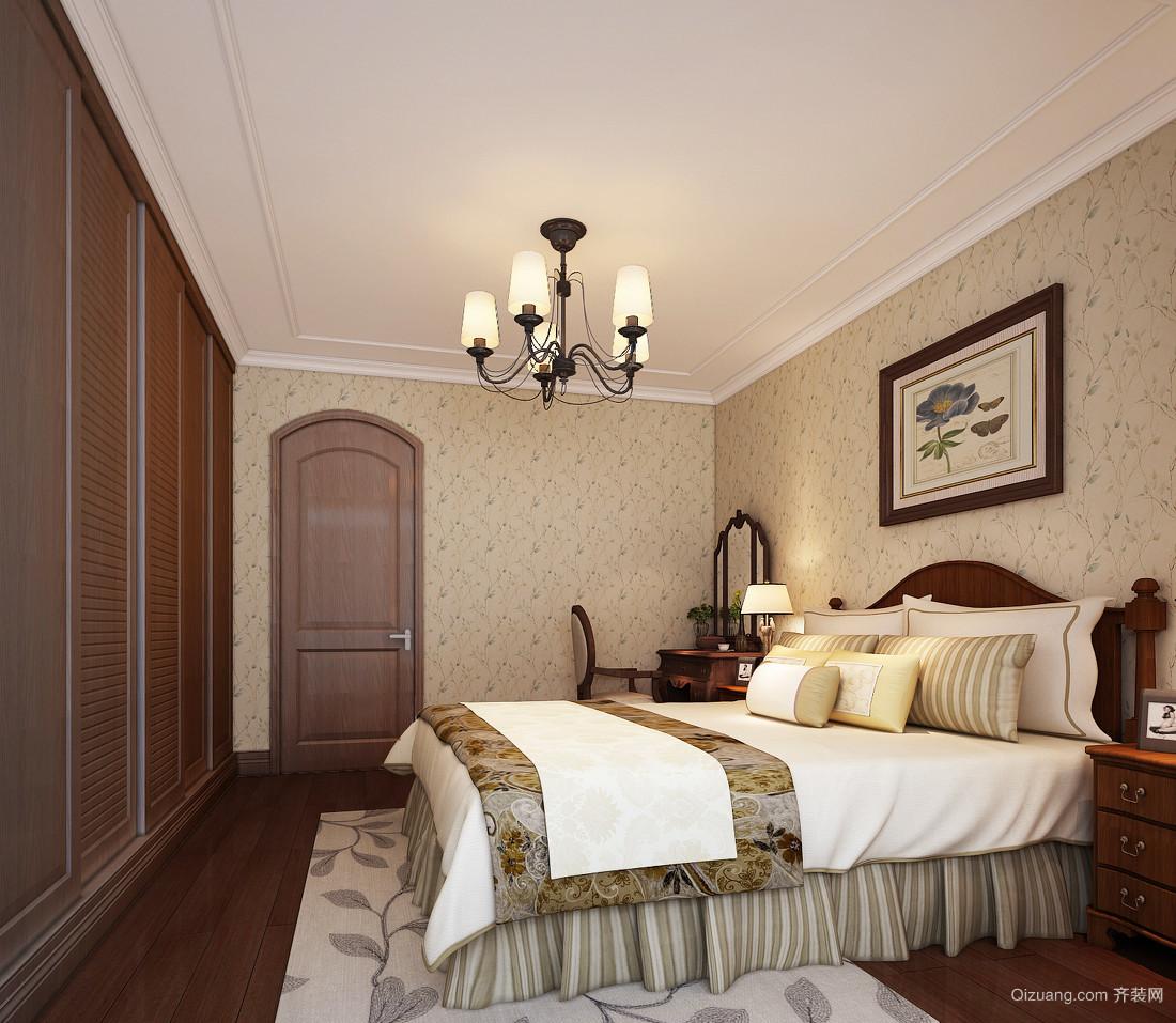 100平米韩式风格卧室装修效果图