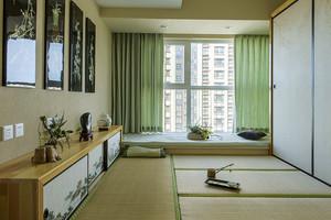 日式田园风格小户型卧室榻榻米设计效果图