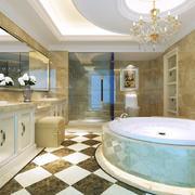 欧式风格别墅卫生间装修效果图赏析