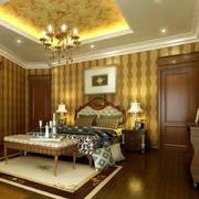 欧式风格大户型卧室吊顶装修效果图赏析