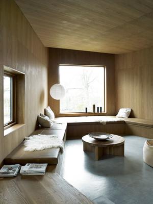 现代中式风格大户型飘窗设计效果图赏析