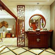 中式风格大户型玄关设计效果图鉴赏