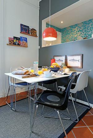 现代风格小户型创意餐厅装修效果图赏析