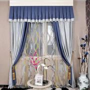 地中海风格小户型卧室窗帘设计效果图