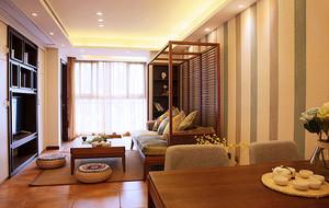 140平米东南亚风格整体装修效果图