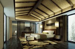 东南亚风格大户型卧室装修效果图赏析