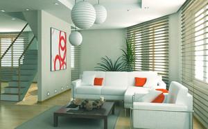 简约风格复式楼客厅装修效果图赏析