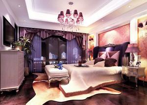 古典欧式风格大户型卧室装修效果图