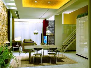 简约风格复式楼餐厅装修效果图赏析
