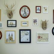 美式田园风格小户型照片墙设计效果图鉴赏