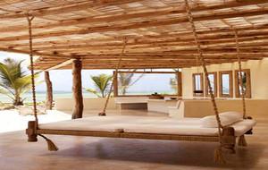 120平米美式乡村风格吊床设计效果图