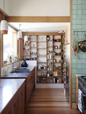 日式风格三居室厨房装修效果图赏析
